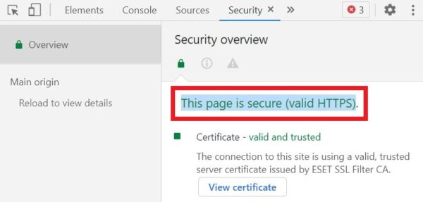 chrome security overview
