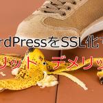 WordPressをSSL化するメリット、デメリット