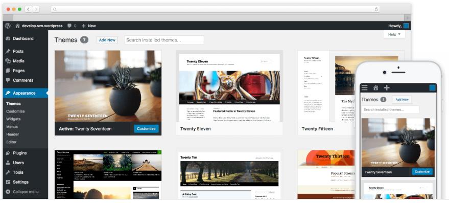 WordPressの画像